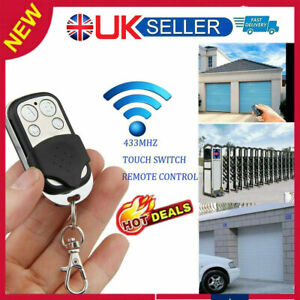 Universal Cloning Remote Control Key Fob for Car Garage Door Electric Gate UO