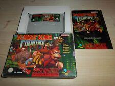 Donkey Kong Country ESP OVP/CIB Super Nintendo SNES