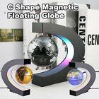 C Shape LED World Map Decoration Magnetic Levitation Floating Globe Light AU
