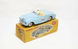 Dinky 101 Sunbeam Alpine In Its Original Box - Good Vintage Original Model