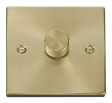 Satin Brass 1-Gang Dimmer Switche Home Electrical Fittings