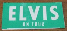 Elvis Presley On Tour Personnel Identification Badge RARE Unused NM