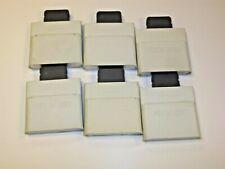 lot of (6) Xbox 360 memory cards OEM genuine microsoft 512MB 256MB 64MB