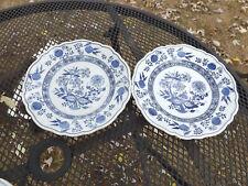 """Hutschenreuther BLUE ONION 2 Dessert Plates 7 1/2"""""""