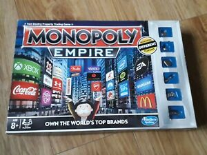 MONOPOLY EMPIRE Board Game Age 8+ 2-4 Players family game Hasbro 10.99p xmas