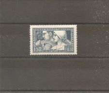 TIMBRE FRANCE FRANKREICH CA 1928 TRAVAIL N°252a NEUF* MH TYPE 2