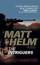 Donald Hamilton, Matt Helm - The Intriguers (Matt Helm Novel), Very Good Book