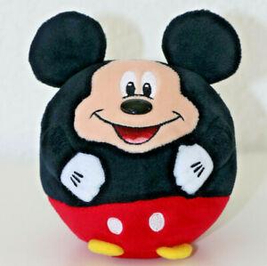 "Mickey Mouse TY Disney Plush Stuffed Animal Kids Toy Round Ball - Size 5"""