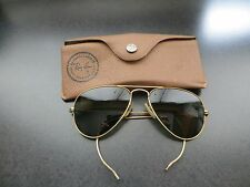 Ray-Ban Bausch & Lomb Aviator Sunglasses Vintage 10K GF USA Frame