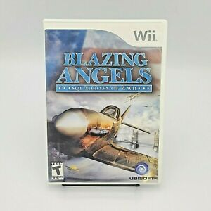 Blazing Angels: Squadrons of WWII (Nintendo Wii Video Game) Complete
