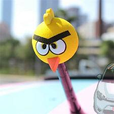Cute Yellow Angry Birds Antenna Balls Car Aerial Ball Antenna Topper Decor Ball