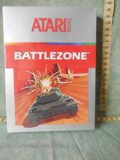 "ATARI 2600 "" BATTLEZONE "" 1983 VIDEO GAME  CARTRIDGE  FONDO DI MAGAZZINO"