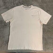 Nike Sportswear White/Silver Crewneck T-Shirt (XL)