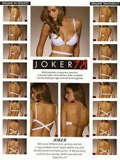 Reggiseno Lormar Joker 18 push-up multifunzione colore NUDO tg. 2
