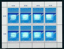 """Austria - """"EXPORTS ~ MAKE IN AUSTRIA"""" MNH Hologram Stamp Sheetlet 1988 !"""