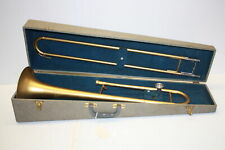 Vintage Trombone Rent A Horn Beginners Model - A Trial Rental with Case VGC