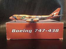 """Qantas B-747-400 (VH-OJB) """"Wunala Dreaming"""", 1:400, Tucano, Rare!"""