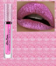 LIME CRIME-Diamante trituradoras-Iridiscente Labio Topper-Tira-Rosa Brillante