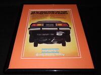 1981 Walker Mufflers Framed 11x14 ORIGINAL Vintage Advertisement