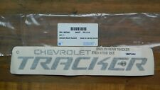 OEM GM '99-04 Chevrolet Tracker Rear Gate Emblem / Decal #30023404 / 30021371