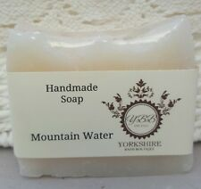handmade soap natural oils and butters mountain water