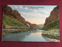 Washington Mountains of The Northwest Antique Photo Postcard Vintage