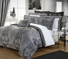 Duvet Cover Set/3pcs Cotton/YARN DYE 200TC Modern Toile  Queen By Malibu Home