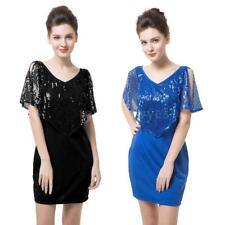 Plus Size V Neck Clubwear Wrap Dresses for Women