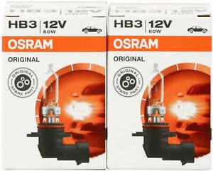 2x 9005 hb3 headlight kit Bulbs high beambulb pair light car lamp Osram globes