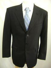 Ralph Lauren Phil, Purple label, Black, 2 piece Virgen Wool suit 40R  30 x 29