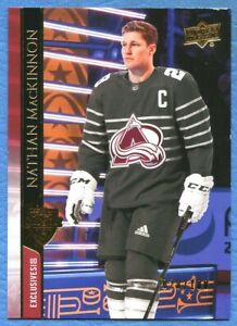 NATHAN MacKINNON 2020-21 UD EXTENDED EXCLUSIVES #659 COLORADO AVALANCHE 28/100