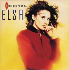 ELSA RIEN QUE POUR CA / FAUDRAIT PAS CROIRE FRENCH 45 SINGLE