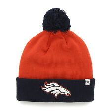 NFL Denver Broncos Bounder Cuff Knit Orange '47 Brand Hat
