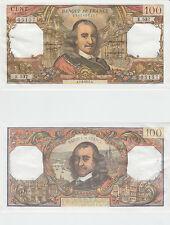 Gertbrolen 100 FRANCS CORNEILLE du 1-4-1971  E.537 Billet N° 1340405157