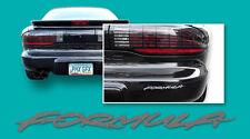 95-97 Firebird Formula Headlight & Rear Bumper Decals Charcoal Gray