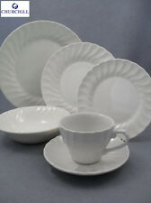 Churchill Earthenware Cream 17cm Chelsea Side Plate Serveware Kitchen New