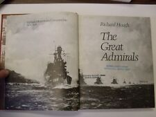 The Great Admirals by Richard Hough (1977, Book, Illustrated)
