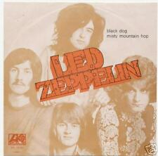 "LED ZEPPELIN ""BLACK DOG"" RARE PORTUGAL W/PS"