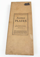 EASTMAN PLATES 4 X 10 , 5 PLATES , RARE SIZE