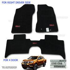Tailored Carpet Floor Mat Front Auto Rh Driver For Nissan Navara NP300 Genuine