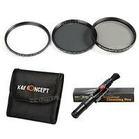 58MM UV Circular CPL ND4 Lens Filter Kit For Canon EOS 650D 600D 550D 500D 18-55