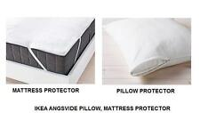 IKEA- ANGSVIDE- PILLOW- MATTRESS- PROTECTOR COVER- AVAILABLE IN ALL SIZES