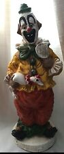 1966 Kendrick Clown Statue Holding Duck IT From Universal Statuary Corp  #384