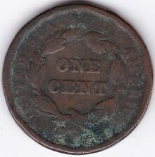 1842 U.S.A. Braided Hair Cent   Copper   Pennies2Pounds