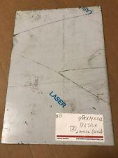 NOVACEL SOLUTION STAINLESS STEEL(1) SHEET 16 GA 9 5/8