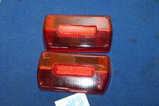 GT 1750 PRIMA SERIE FANALI POSTERIORI LENTI CARELLOTAIL LIGHT LENSES N.O.S.