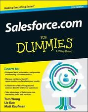 Salesforce.com For Dummies For Dummies Series
