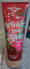 * Bath & Body Works Invierno Candy Apple Crema Corporal 8oz/226g *