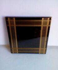 Art Deco Pocket Mirror Compact