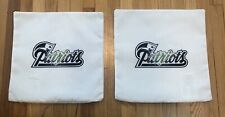 """NEW ENGLAND PATRIOTS 16"""" Pillow Case Cover NFL Spell Out Field FREE SHIPPING!"""
